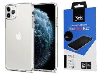 Etui SPIGEN LIQUID CRYSTAL IPHONE 11 PRO MAX przezroczysty +szkło 3MK HG Lite