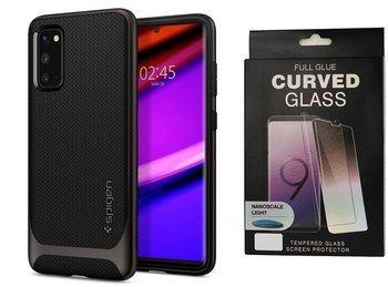 Etui pancerne SPIGEN NEO HYBRID Samsung Galaxy S20 GUNMETAL +szkło UV