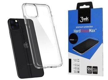 SPIGEN ULTRA HYBRID IPHONE 11 PRO MAX CRYSTAL CLEAR +szkło 3MK HG Lite