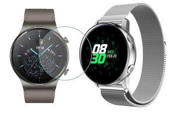 TECH-PROTECT MILANESE opaska pasek bransoleta BAND Huawei Watch GT 2 PRO 46mm SILVER +szkło hartowane na ekran