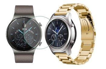 TECH-PROTECT opaska pasek bransoleta STAINLESS Huawei Watch GT 2 PRO 46mm GOLD +szkło hartowane na ekran