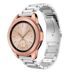opaska pasek bransoleta (20mm) STAINLESS Samsung Galaxy Watch 3 41mm SILVER