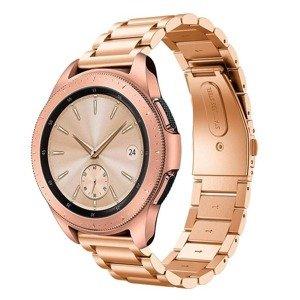 opaska pasek bransoleta (20mm) STAINLESS Samsung Watch ACTIVE 1/2 40/44mm BLUSH GOLD