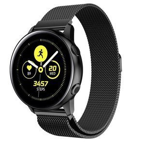 opaska pasek bransoleta (22mm) MILANESEBAND Huawei Watch GT 2 PRO 46mm BLACK