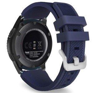 opaska pasek bransoleta (22mm) SOFTBAND Garmin Vivoactive 4 / Chronos MIDNIGHT BLUE