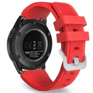 opaska pasek bransoleta (22mm) SOFTBAND Huawei Watch GT 2 PRO 46mm RED
