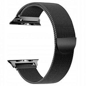 opaska pasek bransoleta MILANESEBAND Apple Watch 1/2/3/4/5 38/40mm BLACK