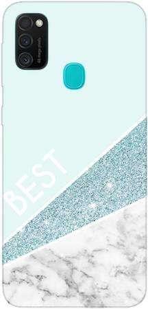 Etui Dla Przyjaciol Friends Glitter Niebieski Na Samsung Galaxy M21 Samsung Galaxy M21 Samsung Seria Galaxy M Samsung Galaxy M21 29 90 Zl