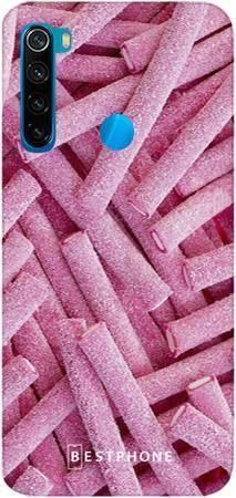 etui różowe żelki