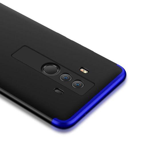 360 Protection etui na całą obudowę przód + tył Huawei Mate 10 Pro czarno-niebieski