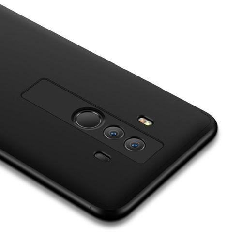 360 Protection etui na całą obudowę przód + tył Huawei Mate 10 Pro czarny