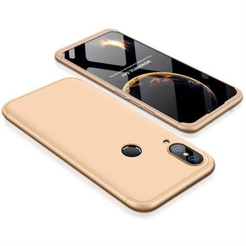 360 Protection etui na całą obudowę przód + tył Huawei P20 Lite złoty