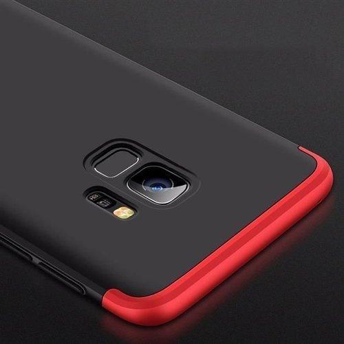 360 Protection etui na całą obudowę przód + tył Samsung Galaxy S9 G960 czerwony