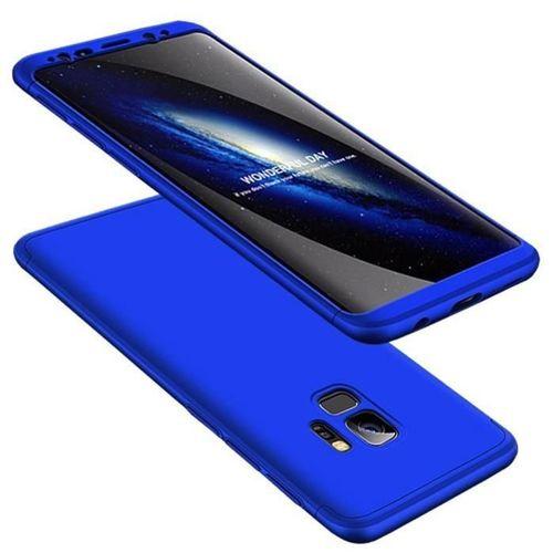360 Protection etui na całą obudowę przód + tył Samsung Galaxy S9 G960 niebieski