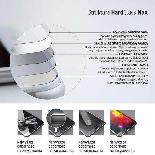 3MK HardGlass Max OnePlus 7T czarny/black, FullScreen Glass