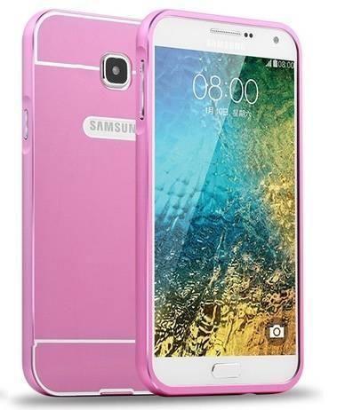 BUMPER ALU Samsung Galaxy A5 (2016)  różowy