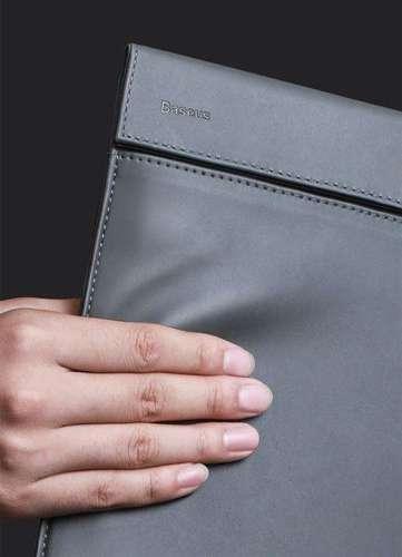 Baseus Let's go eleganckie torba pokrowiec etui na laptopa MacBook 13'' biały (LBQY-A24)