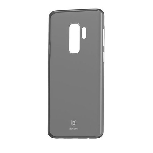 Baseus Wing Case ultracienkie etui pokrowiec Samsung Galaxy S9 Plus G965 szary (WISAS9P-01)