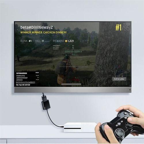 Baseus przejściówka adapter z HDMI 4K na VGA czarny (CAHUB-BH01)