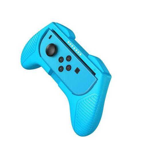 Baseus zestaw 2x nakładka na Joy-Con joystick pad do Nintendo Switch czerwony i niebieski (GMSWC-93)