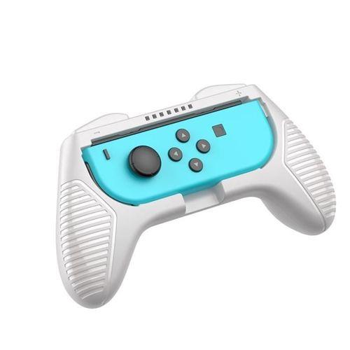 Baseus zestaw 2x nakładka na Joy-Con joystick pad do Nintendo Switch szary (GMSWC-0G)