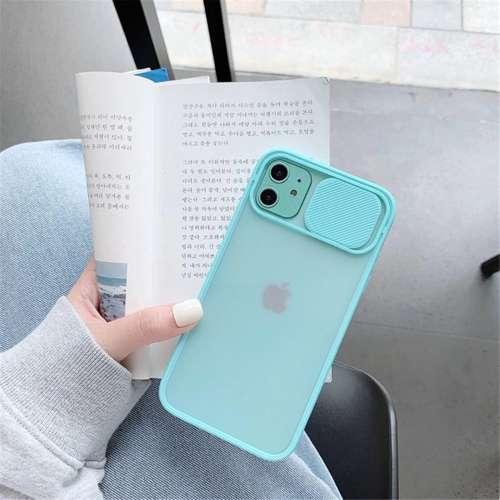 CAMSLIDER silikonowe etui pokrowiec iPhone 11 PRO czarny