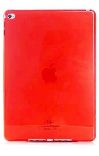 CLEAR iPad AIR 2 czerwony