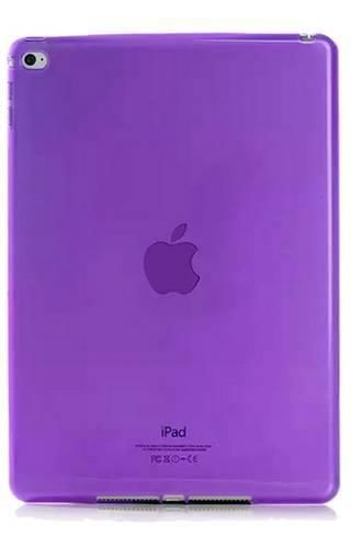 CLEAR iPad AIR fioletowy
