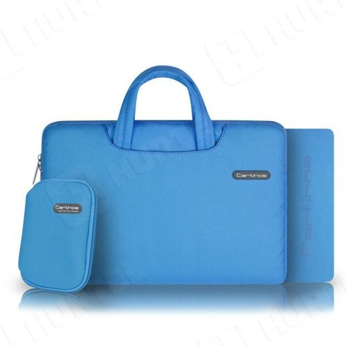 Cartinoe torba na laptopa Ambilight Series 15,4 cala niebieska
