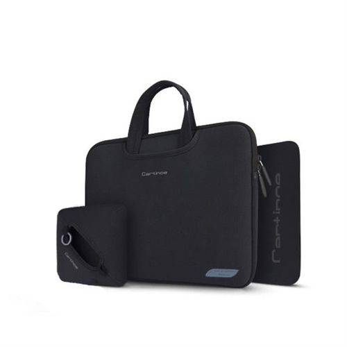 Cartinoe torba na laptopa Breath Series 15,4 cala czarna