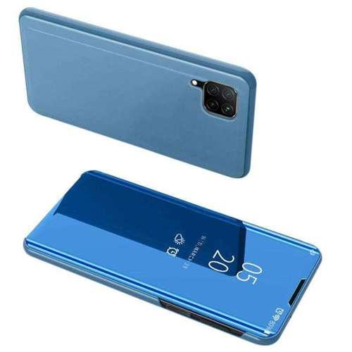 Clear View Case futerał etui z klapką Huawei P40 Lite / Nova 7i / Nova 6 SE niebieski