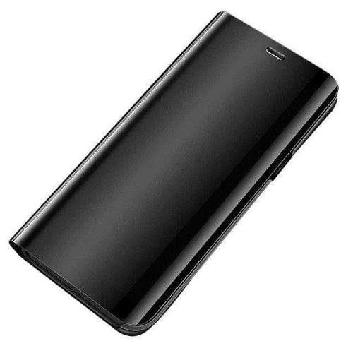 Clear View Case futerał etui z klapką OnePlus 8 Pro czarny