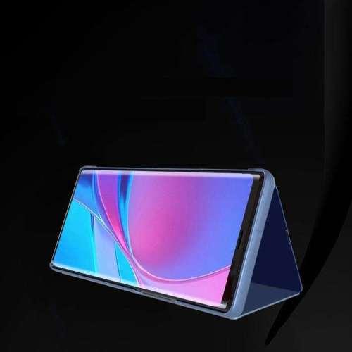 Clear View Case futerał etui z klapką Oppo A72 / A52 niebieski