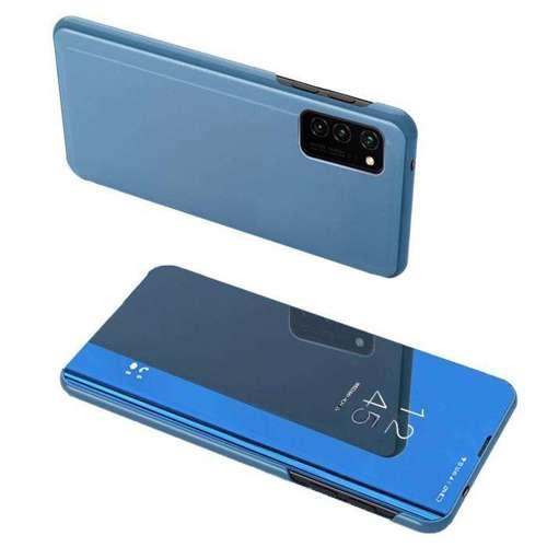 Clear View Case futerał etui z klapką Oppo Reno 4 Pro 5G niebieski