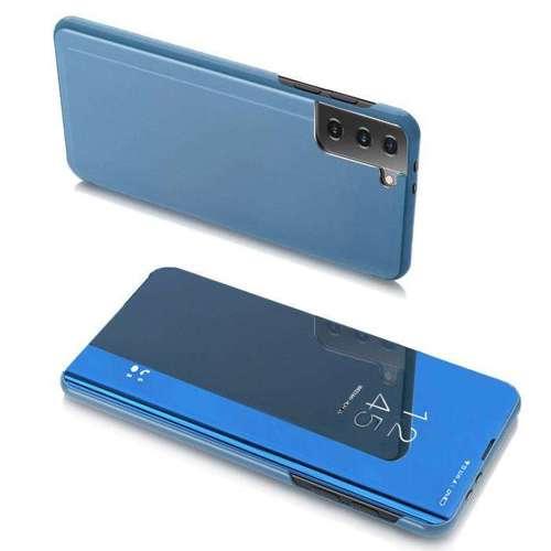 Clear View Case futerał etui z klapką Portfel Samsung Galaxy S21 Ultra 5G niebieski