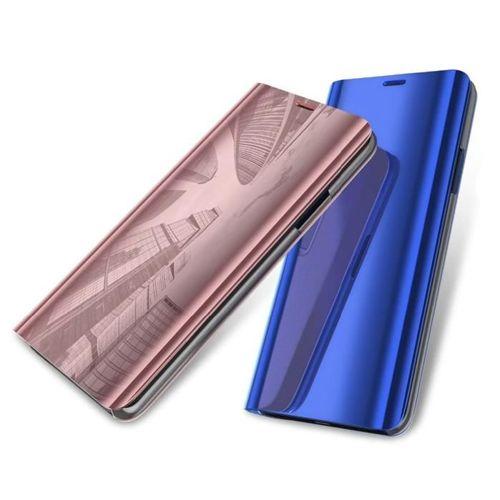 Clear View Case futerał etui z klapką Samsung Galaxy A71 srebrny