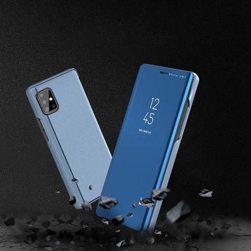 Clear View Case futerał etui z klapką Samsung Galaxy S20 Plus niebieski