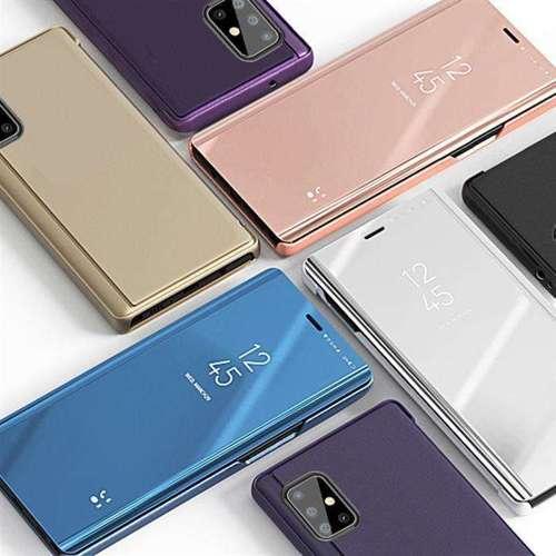 Clear View Case futerał etui z klapką Samsung Galaxy S20 czarny