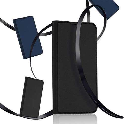 DUX DUCIS Skin Pro kabura etui pokrowiec z klapką Motorola G8 Plus niebieski