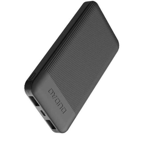 Dudao 2x USB power bank 10000mAh 2A czarny (K4X black)