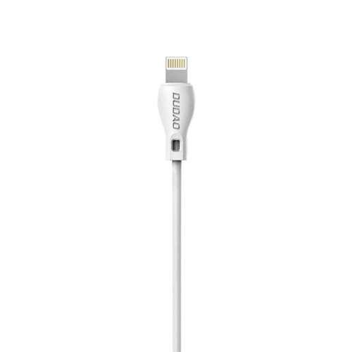Dudao przewód kabel USB / Lightning 2.1A 1m biały (L4L 1m white)