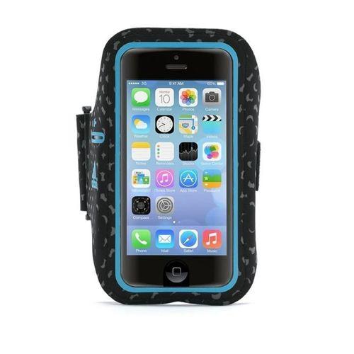ETUI ADIDAS ARMBAND IPHONE 5S/SE BLACK/BLUE