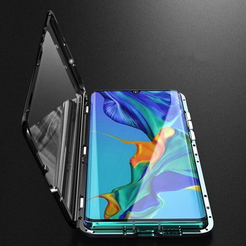Etui 360 FULL GLASS MAGNETIC Huawei P30 Lite czarny