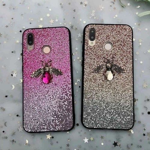 Etui Bee Glitter HUAWEI P30 LITE różowe