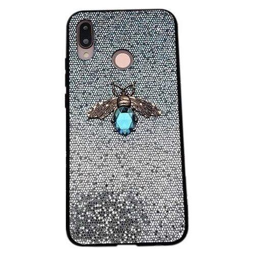 Etui Bee Glitter SAMSUNG GALAXY A50 niebieskie