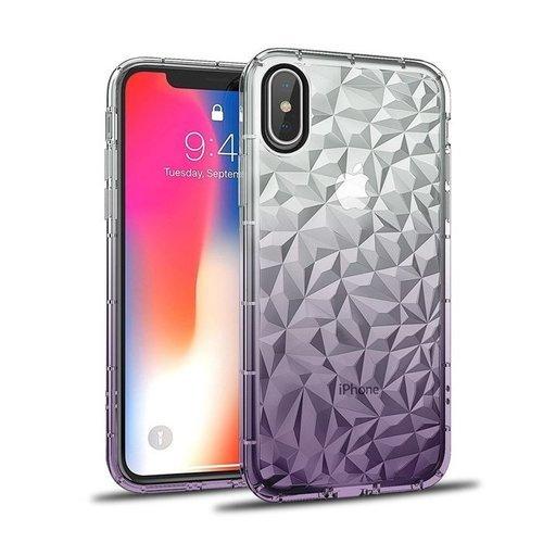 Etui Diamond Ombre HUAWEI Y6 2019 fioletowe