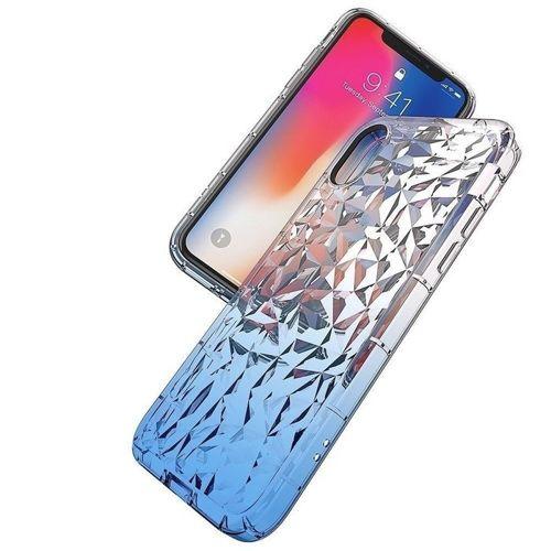 Etui Diamond Ombre HUAWEI Y6 2019 niebieskie
