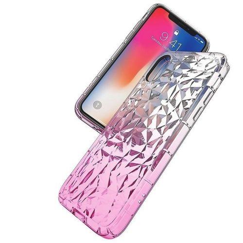 Etui Diamond Ombre HUAWEI Y6 2019 różowe