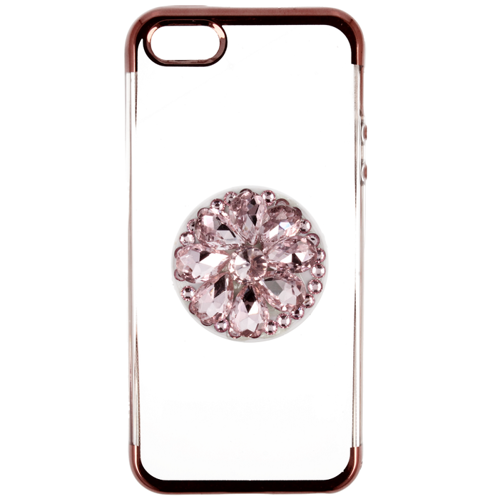Etui Diamond Stand IPHONE 5 różowe