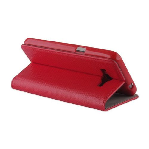 Etui Flip Magnet HUAWEI Y7 czerwony